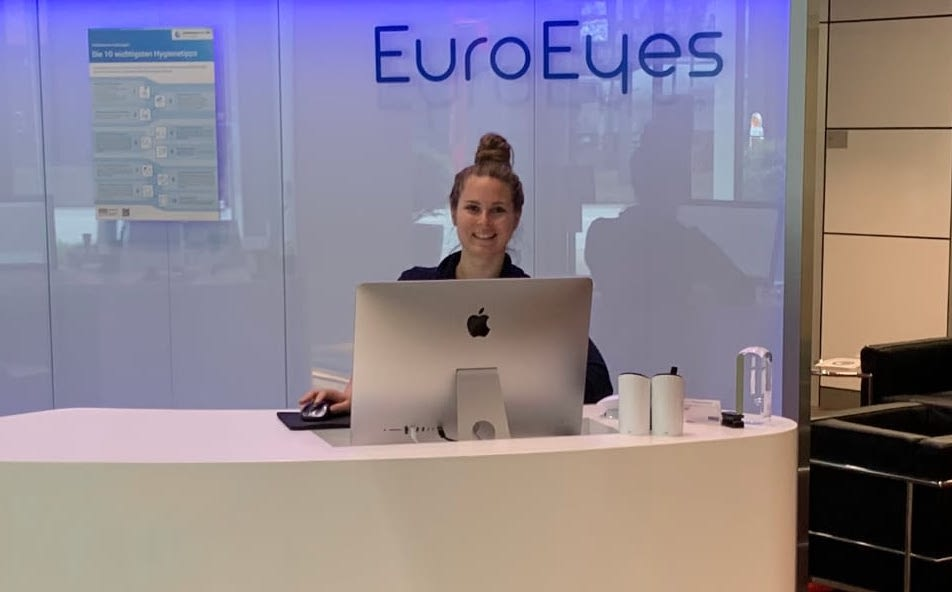 EUROEYES AWARDED FOR VERY HIGH SERVICE QUALITY