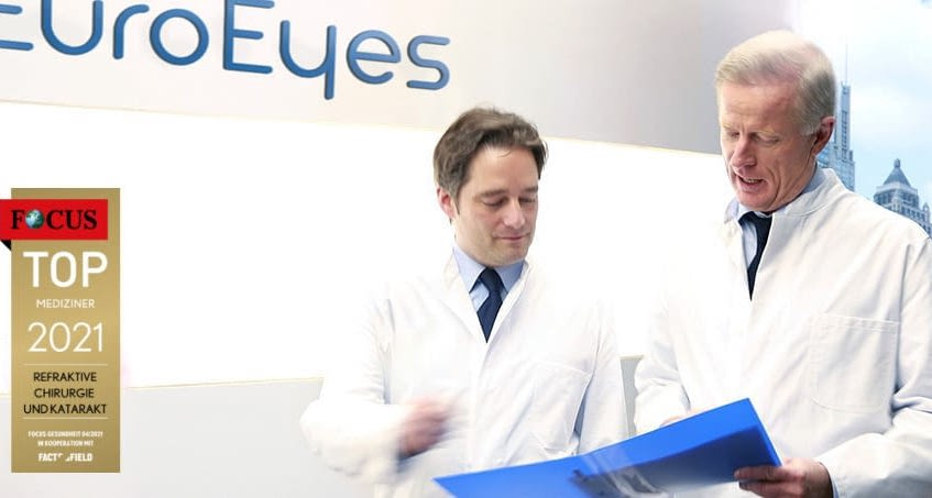 FOCUS DOCTOR LIST 2021: FOUR EUROEYES SURGEONS AGAIN AMONG GERMANY'S TOP OPHTHALMOLOGISTS